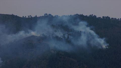 """Terör örgütü PKK/KCK'nın """"yangın"""" yalanı çürütüldü"""