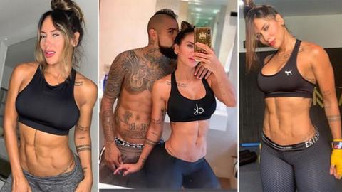 Transfer yuva yıktı! Vidal ve fitness modeli sevgilisi Sonia Isaza...