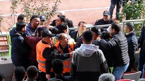 Gazeteciye saldıran kulüp yöneticisine para cezası