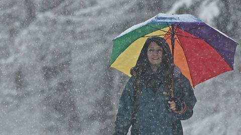 Yurtta sağanak yağış ve kar