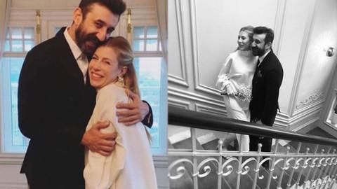 Çukur'un Cumali'si Necip Memili ile Didem Dayıcıoğlu evlendi