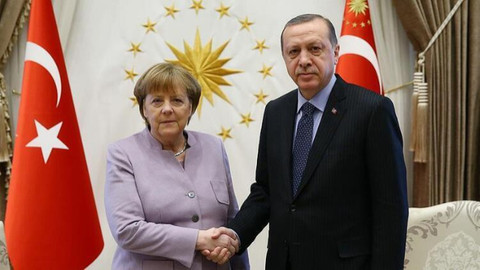 Cumhurbaşkanı Erdoğan, Merkel ile görüşecek