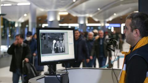 Çin'den gelen yolcular termal kameralarla taranıyor