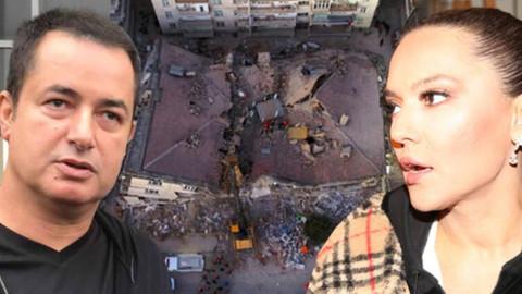 Ünlü isimler Elazığ depremi sonrası paylaştı!