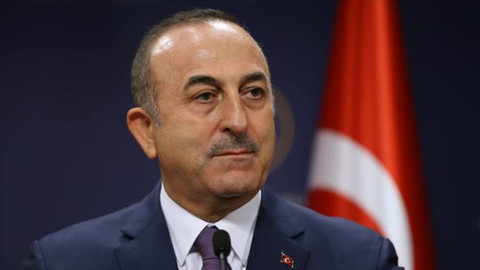 Bakan Çavuşoğlu: Barış değil ilhak planıdır