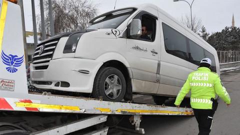 Türkiye genelinde denetim! 329 araç trafikten men edildi