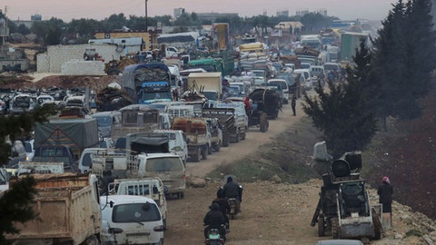 BM bildirdi: İdlib'de son 3 ayda çatışmalar yüzünden 830 bin kişi yerinden edildi