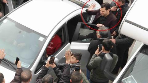 Adana'da Murat Yıldırım'a yoğun ilgi