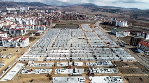 Bakan Soylu: Konteynerlerin yaklaşık 500'ü bugün hazır