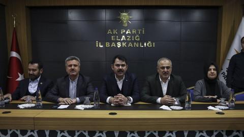 Bakan Kurum: Elazığ'da konut projelerini başlattık
