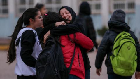 Elazığ'da ilk ders zili çaldı