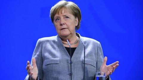 Merkel'den koronavirüs açıklaması: Nüfusun yüzde 60-70'ine bulaşabilir