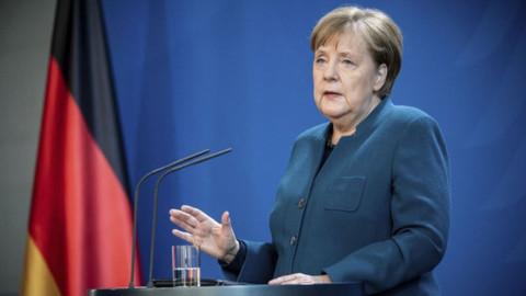 Merkel'den Kovid-19 açıklaması: 2008 krizinden daha kötü