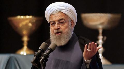 """İran Cumhurbaşkanı Ruhani'den BAE'ye """"hatadan dönün"""" çağrısı"""