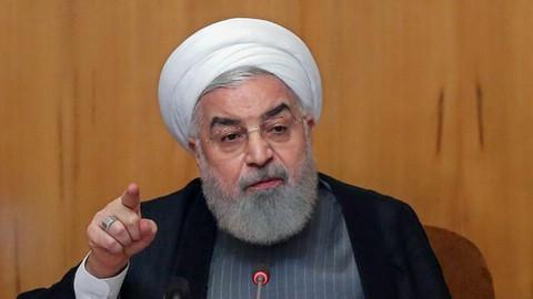 Ruhani'den kritik mesaj: Çatışmalar bölgesel bir savaşa dönüşmemeli