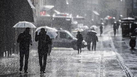 Meteoroloji'den uyarı: Tüm Türkiye'de sağanak yağış