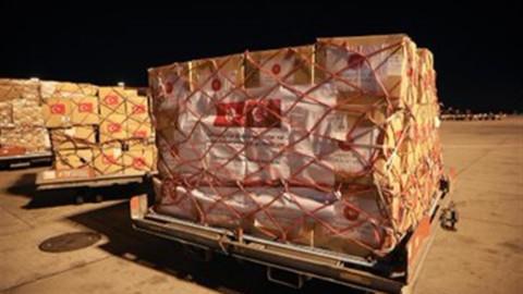 Tununs'a sağlık ekipmanları gönderildi