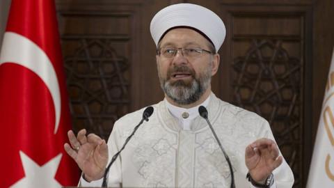 Erbaş'tan camide korsan yayına tepki: Çirkin saldırı asla kabul edilemez