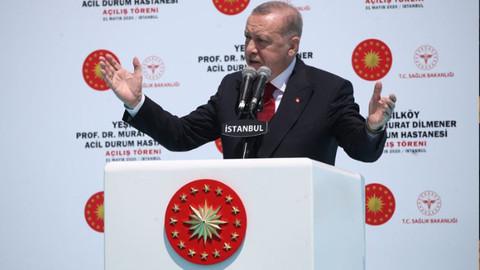 Prof. Dr. Murat Dilmener Acil Durum Hastanesi'nin açılışı
