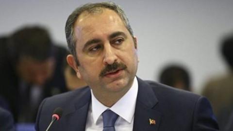 Adalet Bakanı Gül'den tepki