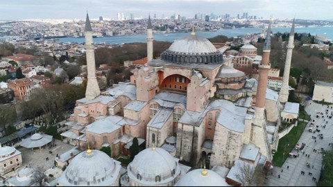 MHP'den Ayasofya açıklaması: Ayasofya üzerinde tasarruf hakkı Türk milletine aittir