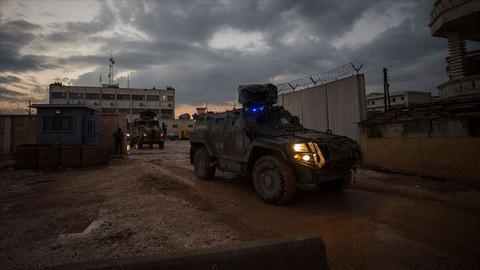 11 bombalı eylem yapan 7 terörist Afrin'de yakalandı!