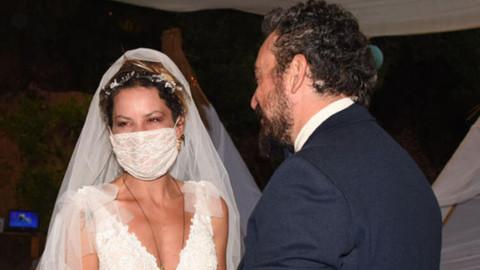 Yıldız Asyalı ile Kerem Saka evlendi