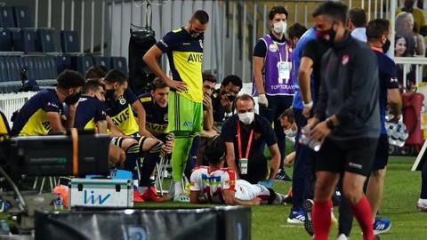 Fenerbahçe: 2- Göztepe: 0 (İlk yarı)