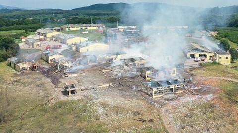 Havai fişek fabrikasındaki patlamada 2 kişi daha hayatını kaybetti