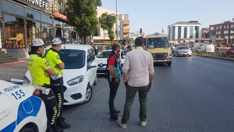 Esenyurt'ta minibüsten 35 yolcu çıktı