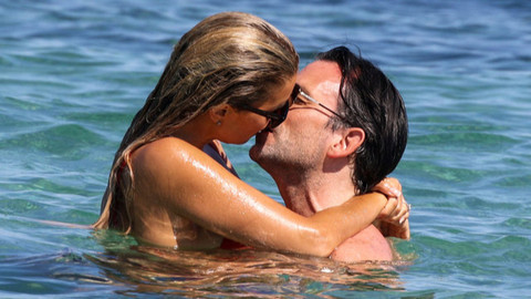 Sylvie Meis ile Niclas Castello tatilde aşka geldi