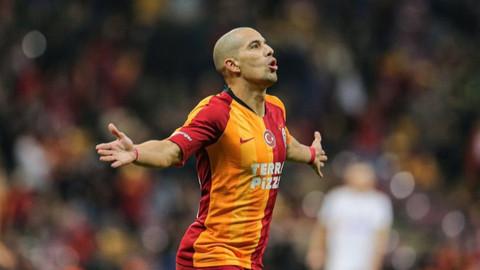 Sofiane Feghouli'den Galatasaray'a ihtarname