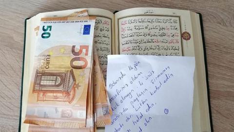 Karantina için odalarında kaldığı öğrencilere 400 euro bıraktı