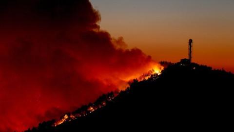 Bodrum'da çıkan yangın kısa sürede söndürüldü