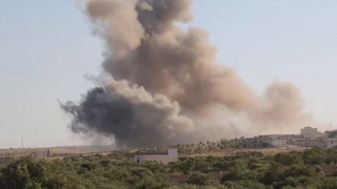 İsrail savaş uçakları Suriye'ye saldırdı!