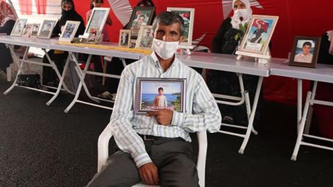 HDP önündeki evlat nöbeti 346'ncı gününde