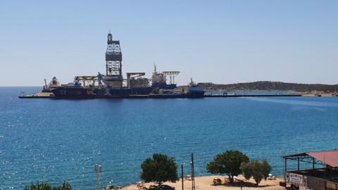 Bakımı süren 'Kanuni', Akdeniz'e açılmaya hazırlanıyor
