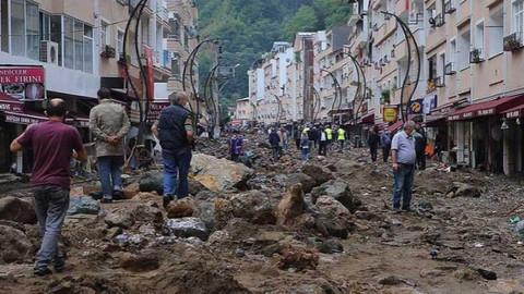 Bakan Pakdemirli: İlk defa böyle bir taşkın, böyle bir doğal afet görüyorum