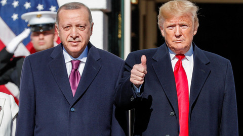 Trump'tan bir Erdoğan açıklaması daha