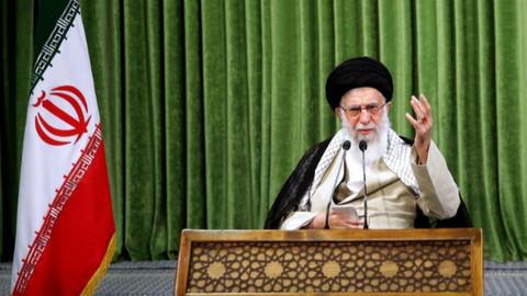 İran dini lideri Hamaney: BAE, İslam dünyasına ve Filistin'e ihanet etti