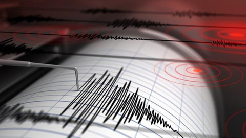 Akdeniz'de 5,7 şiddetinde deprem