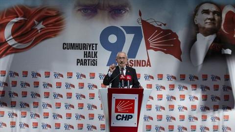 CHP Lideri Kılıçdaroğlu: Türkiye ve Avrupa'nın en güçlü sosyal demokrat partisiyiz