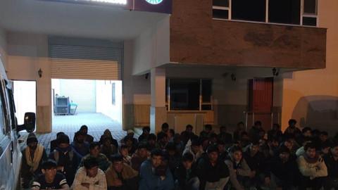 Van'da 63 kaçak göçmen yakalandı