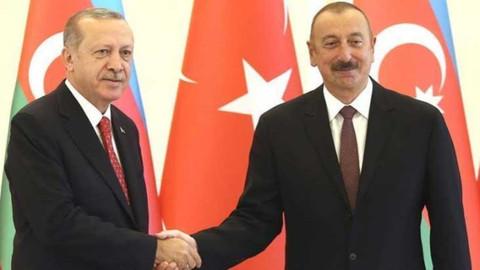 Cumhurbaşkanı Erdoğan, Aliyev ile telefonda görüştü