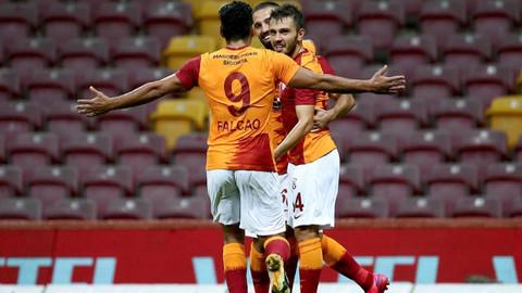 Galatasaray'ın Neftçi Bakü maçı kamp kadrosu