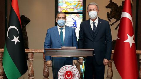 Bakan Akar'dan Libya açıklaması: Türkiye eğitim ve danışma faaliyetlerine devam edecek