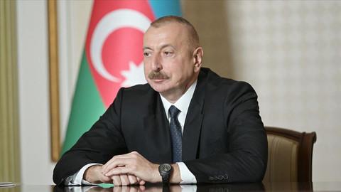 Azerbaycan Cumhurbaşkanı Aliyev: Azerbaycan'ın tek koşulu Ermenistan ordusunun geri çekilmesidir
