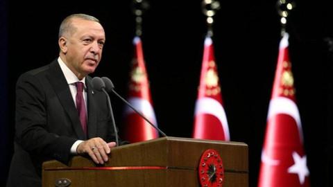 Erdoğan'dan Trump'a geçmiş olsun mesajı