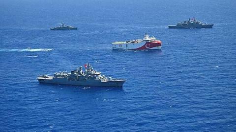 Doğu Akdeniz'de peş peşe Navtex!