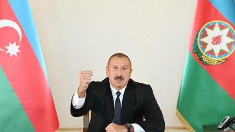 Aliyev'den barış açıklaması